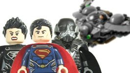 LEGO Man of Steel DC SuperHeroes 76003 Superman Battle of Smallville 2013 Review
