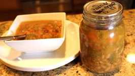 Home Canned Ham And Bean Soup Review