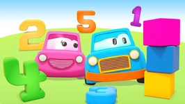 Learn Numbers for Babies with Clever Cars- Kids Learning Numbers with Cars and Trucks