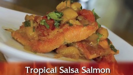 Tropical Salsa Salmon