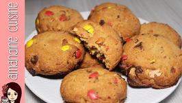 Recette De Cookies Au Beurre De CacahuÃte Et MandM's