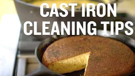 How To Clean A Cast Iron Skillet With Salt