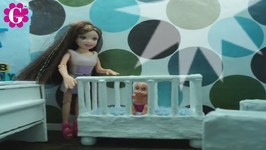 How to Make a Doll Crib for Dollhouses