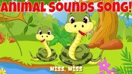 Animal Sounds Song - These Are the Sounds of Animals, for Kids