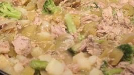 Pork/ Creamy Pork And Veggies