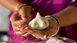 How To Make Modak - Traditional Steamed Modak - Coconut Dumplings - Ganesh Chaturthi Special