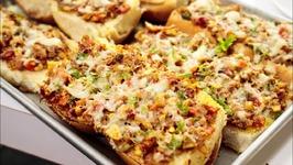 Cheesy Masala Pav -Mumbai Street Style Food