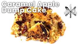Caramel Apple Dump Cake / Just Dump It All In