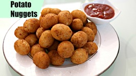 Potato Nuggets /Easy Snack Recipe / Party Appetizer/ Starter