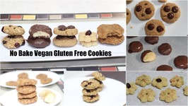 5 No-Bake Vegan Gluten Free Cookies