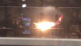 Plane Engine Catches Fire on Landing at Seattle-Tacoma Airport