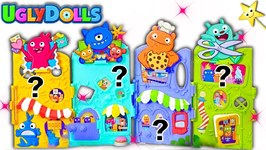 UGLY DOLLS MOVIE Uglyville Surprise Toys Game w/ World's Smallest Toys