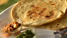 Chili Garlic Chapati - Lasuni Mirchi Chapati - Chili Garlic Roti - Snack/Tiffin