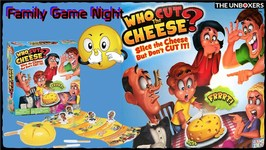 Who Cut the Cheese Game  Family Game Night