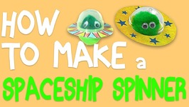 Learn How To Make A Spaceship Spinner With Mister Maker
