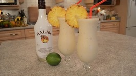 How To Make Red Banana Daiquiris