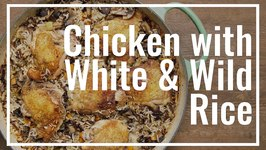 Chicken With White And Wild Rice