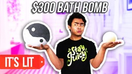 1 Dollar BATH BOMB VS 300 Dollars BATH BOMB