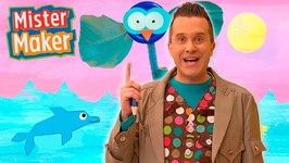 The Colour Blue - Full Episode - Mister Maker's Arty Party