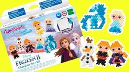 Disney Frozen 2 Aquabeads DIY Elsa, Anna, Olaf, Nokk Horse, Kristoff