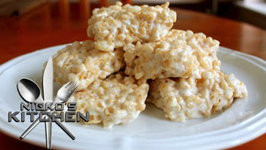 Rice Crispie Treats (4 Ingredients)