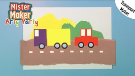 Make A Road Picture - Arty Party - Mister Maker