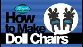 How to Make Doll Chairs for Monster High Barbie EAH dolls