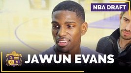 NBA Draft Prospect - Jawun Evans Lakers Interview - Guard, Oklahoma State