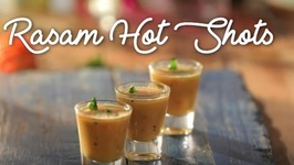 Rasam Spicy Shots - How To Make Restaurant Style Rasam Shots - Tamarind Rasam Recipe