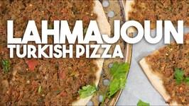Lahmajoun - Turkish Or Arabic Style Pizza