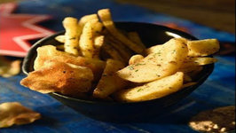 Masala Fries 3 Ways - Aloo Finger Chips - French Fries Restaurant Style