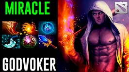 Miracle Invoker GODVOKER Dota 2