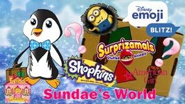 Sundaes World May 2017 Surprise Toy Subscription Box for Kids -SundaesWorld