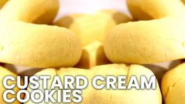 Custard Cream Cookies