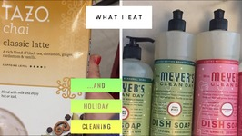 What I Actually Eat In A Day And Holiday Scents