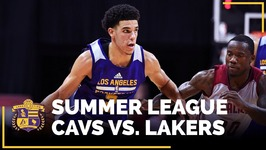 Lal vs CLE Recap - Lonzo Ball Records 2nd Triple Double, Sending Lakers To Quarterfinals