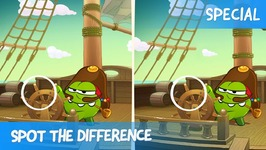 Spot the Difference Ep. 33 - Om Nom Stories- Pirate Ship