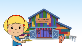House of Colors  Learn about Colors Children Learning Songs and Original Songs for Kids