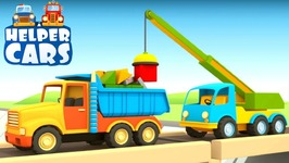 Helper Cars- Trucks and Cars for Kids