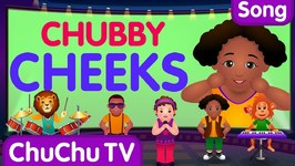 Chubby Cheeks, Dimple Chin - Nursery Rhymes Karaoke Songs For Children - ChuChu TV Rock 'n' Roll