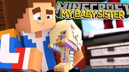 MEETING MY BABY SISTER!! - Minecraft - Little Donny Adventures