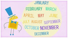 Time- Twelve Months of the Year