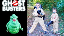 Little Heroes In Real Life Superheroes Fight Ghostbusters Slimer With Irl Gru