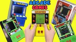 Arcade Classics Mini Arcade Games Haul Opening! Frogger, Pac-Man, Wreck it Ralph, Tetris, Galaga Toy