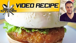 How To Make KFC Chicken Burger