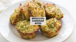 Broccoli Cheddar Bites