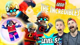Dash And Violet In Trouble Lego The Incredibles Gameplay For Nintendo Switch Part 5