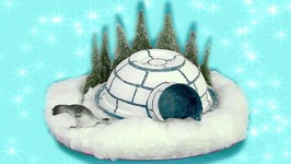 Igloo And Seals Make - Mister Maker