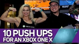 Look what 10 push ups got us -XBOX One X Unboxing - ZG BTS