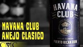 Havana Club Anejo Classico Rum Review-Puerto Rican Rum